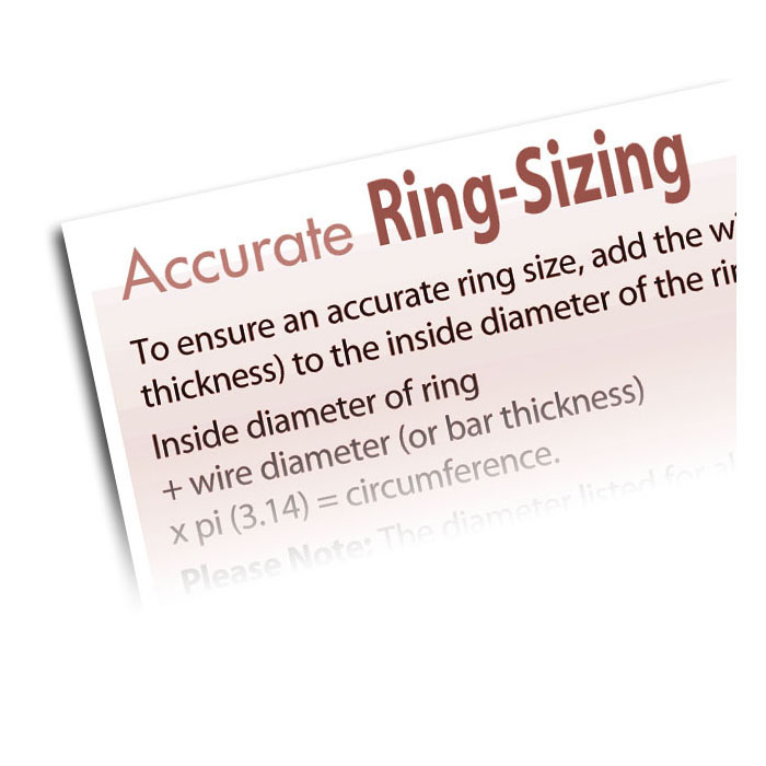 How To Size Rings Accurately