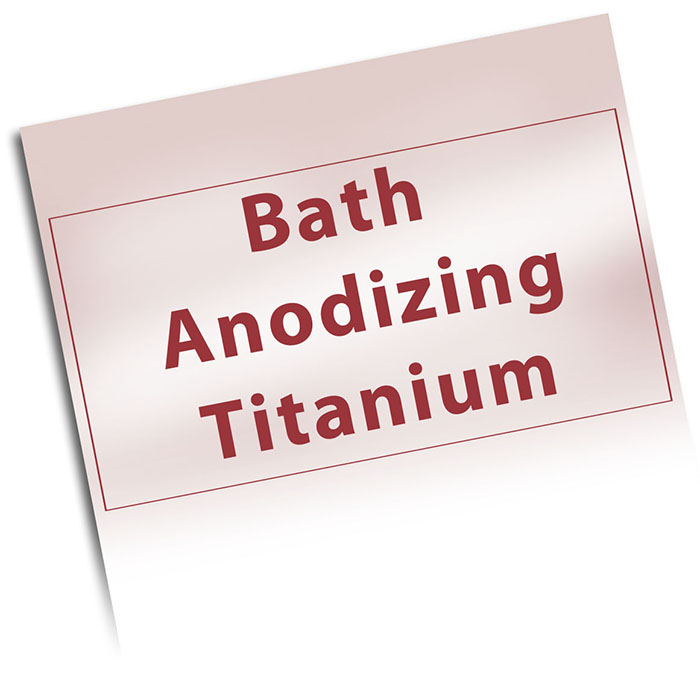 How to bath anodize niobium and titanium solutioingenieria Choice Image
