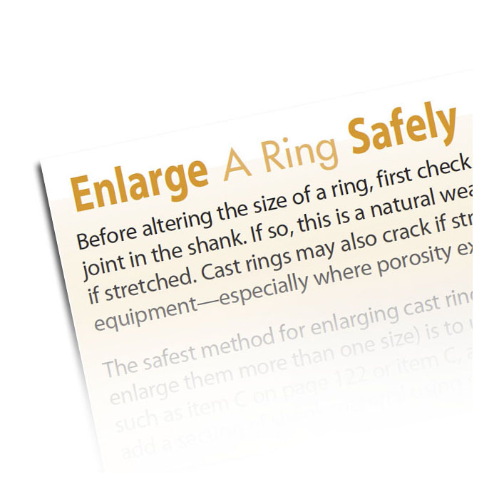 How To Enlarge Rings Safely