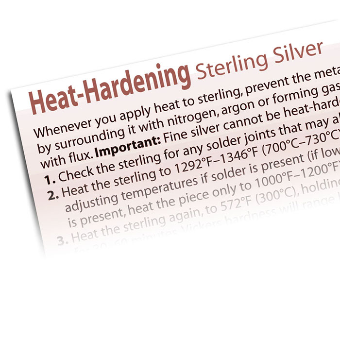 How To Heat-Harden Sterling Silver
