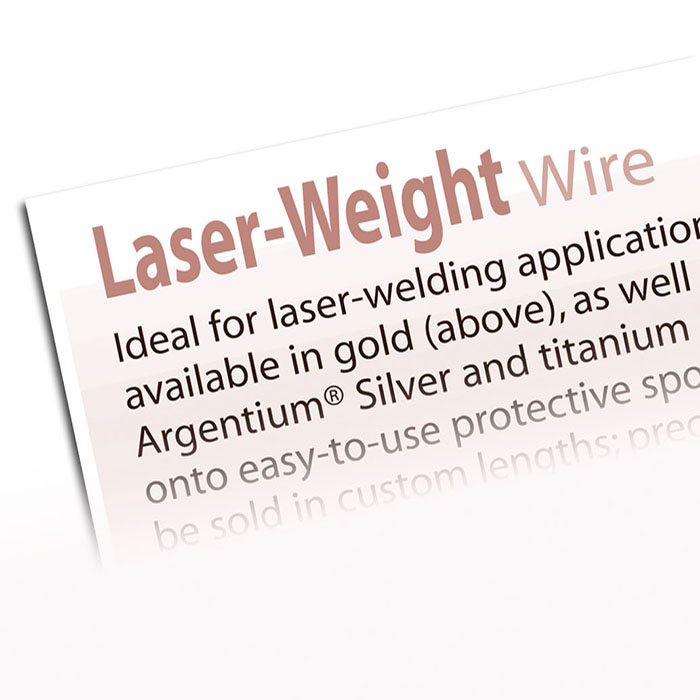 How To Use Laser-Weight Wire