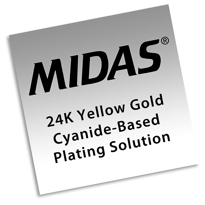 How To Use Midas 24K Yellow Gold Bath Plating Solution, Cyanide-Based