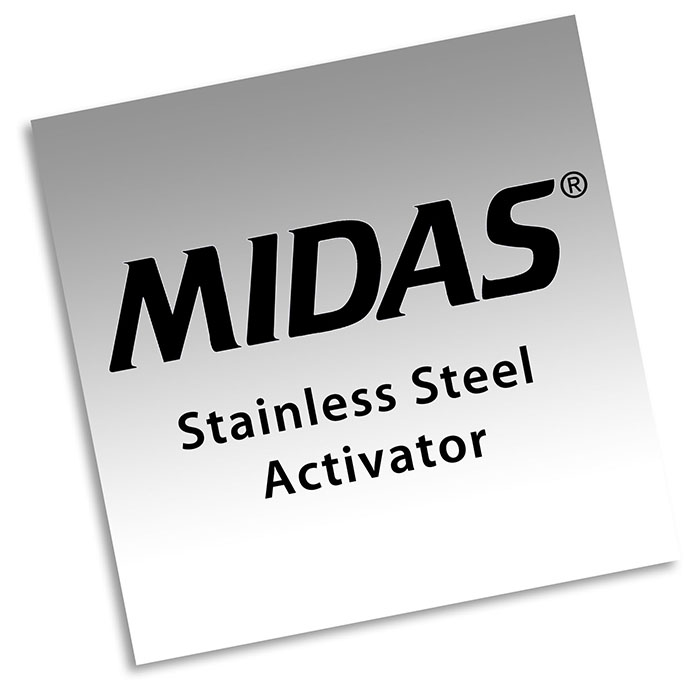 How To Use Midas Stainless Steel Activator