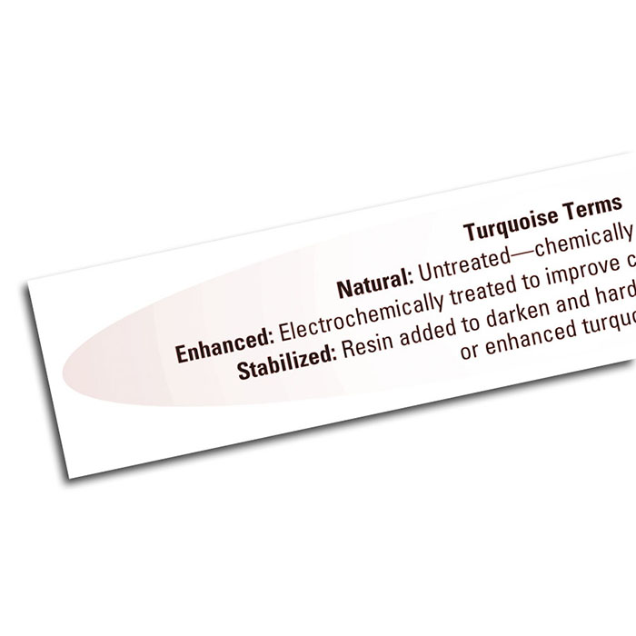 Guide to Turquoise Treatment Terms