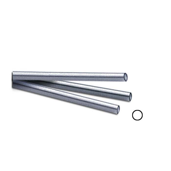 """Sterling Silver 1.45mm Seamless Tubing, Hard, 12"""" Length"""