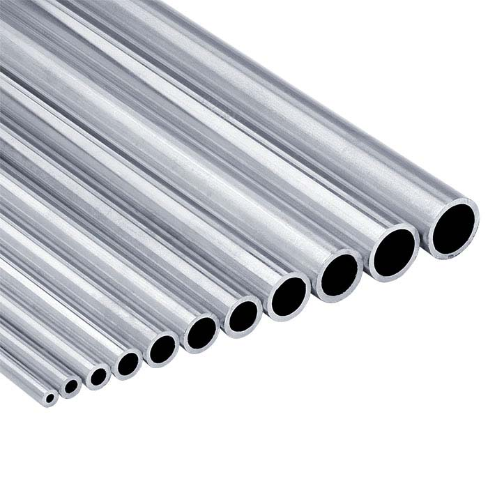 "Sterling Silver 3.56mm Seamless Heavy-Wall Tubing, Hard, 12"" Length"