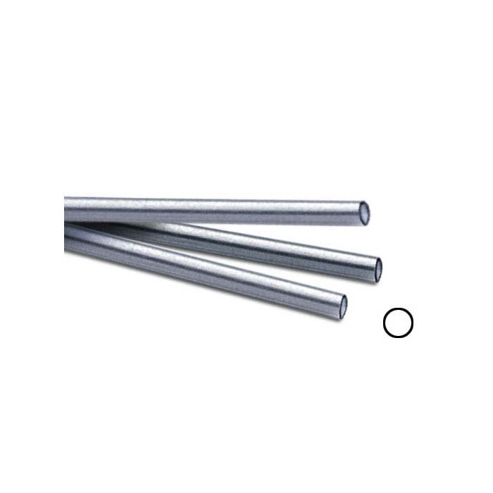Sterling Silver 12.7mm Seamless Tubing, Hard