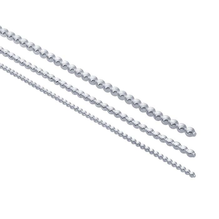 Sterling Silver Full-Bead Wire