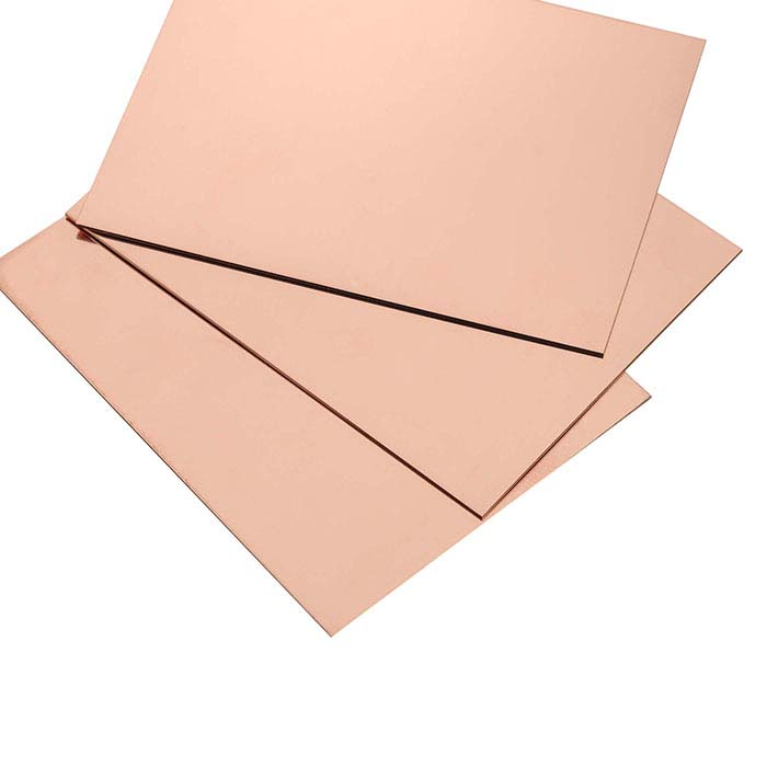 12/20 Pink Gold-Filled Single-Clad Sheet, 1/2-Hard