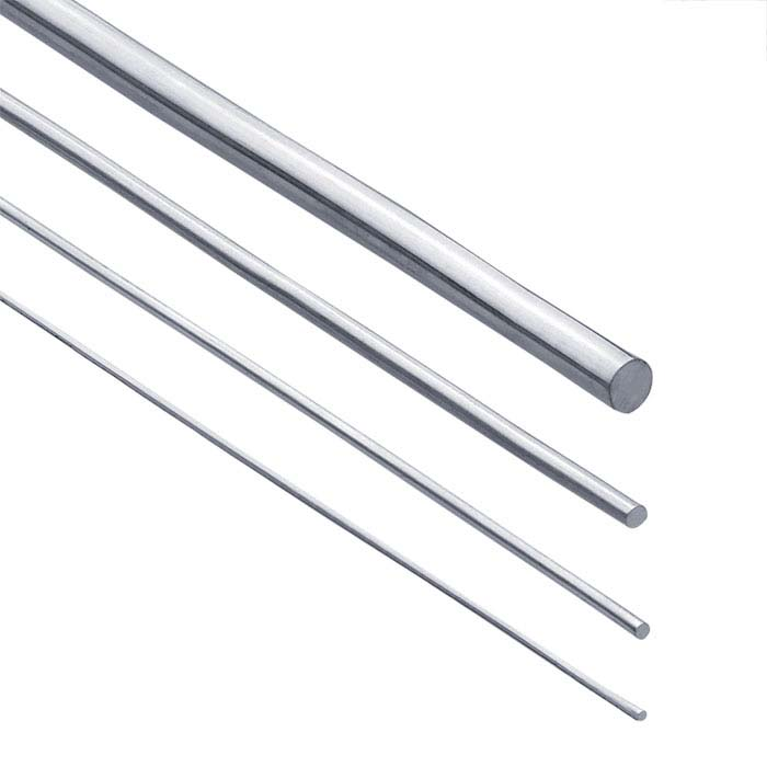 Sterling Silver Round Rods, Dead Soft