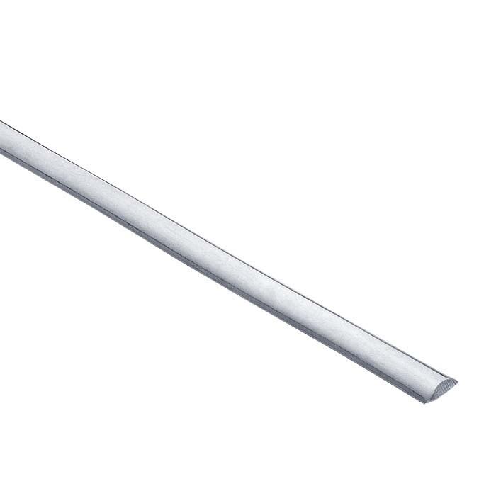 Argentium® Silver Low-Dome Wire, Dead Soft