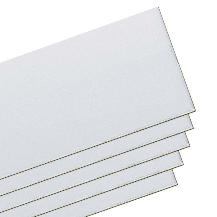 "1/10 Silver-Filled 3"" Double-Clad Sheet, 18-Ga., Dead-Soft"