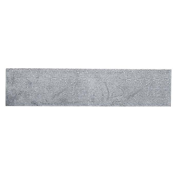 "Damasteel® Stainless Steel ""Aegir"" 7"" x 1-1/2"" Sheet"