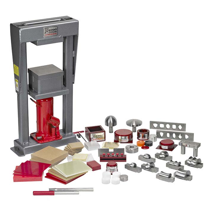Bonny Doon 20-Ton Mark III Manual Hydraulic Press & Ram Starter Kit