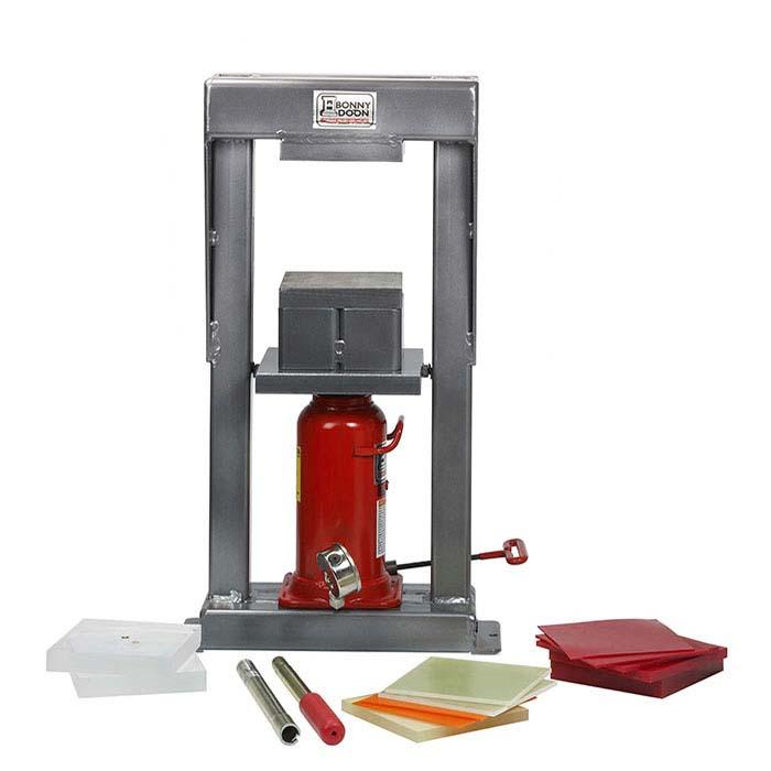 Bonny Doon Mark III 20-Ton Manual Hydraulic Press Package
