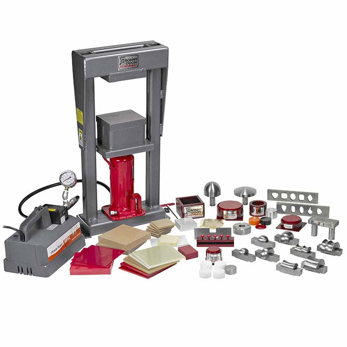 Bonny Doon 20-Ton Mark III Electric Hydraulic Press & Ram Starter Kit