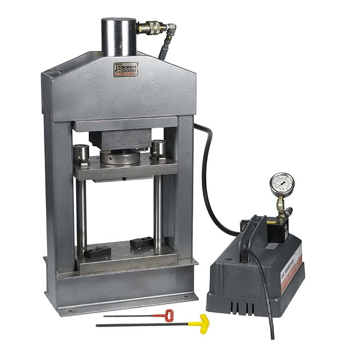 Bonny Doon Pro 25-Ton Electric Hydraulic Press & Ram