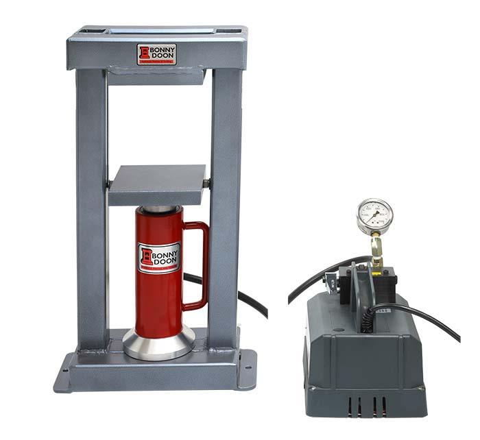 Bonny Doon Classic 20-Ton Electric Hydraulic Press & Ram