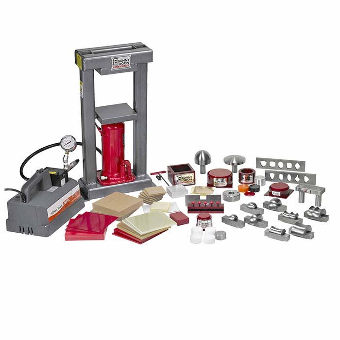 Bonny Doon Classic 20-Ton Electric Hydraulic Press & Ram Starter Kit
