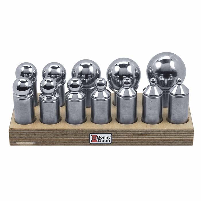 Bonny Doon 12-Piece Dapping Set for Hydraulic Presses