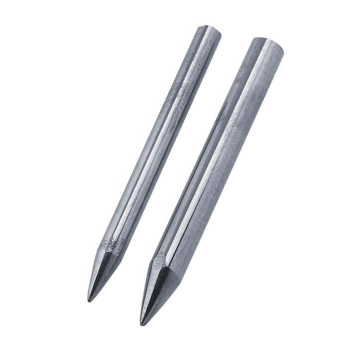 Tungsten Carbide Burnishing Tip Set For Swanstrom Double-Ended Burnisher