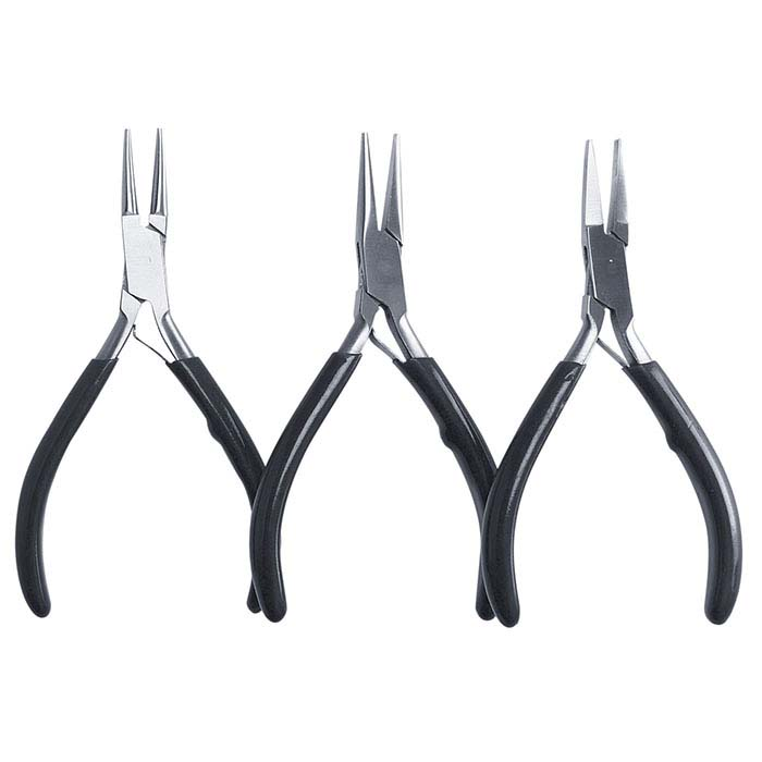 Stainless Steel Three-Piece Pliers Set