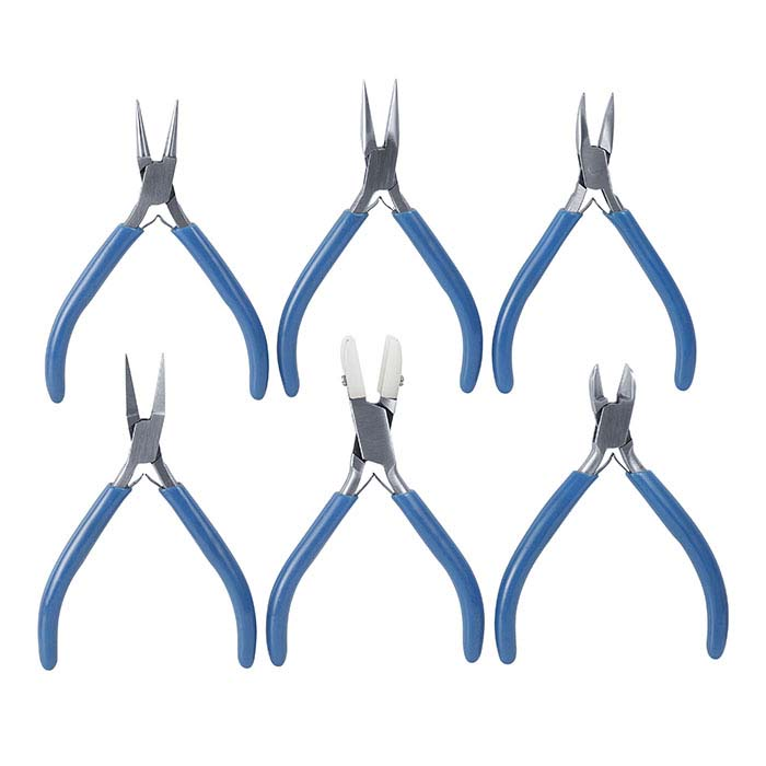 Slim Six-Piece Pliers and Cutters Set