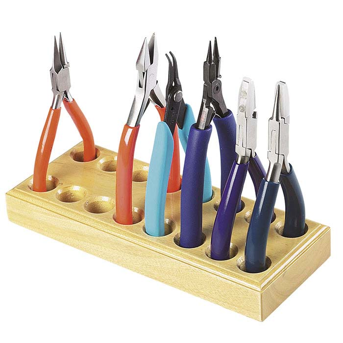 Solid Wood Pliers and Cutters Holder