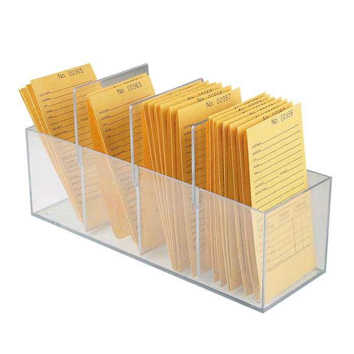 Acrylic Storage Box for Repair Envelopes