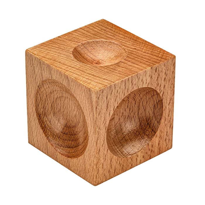 Hardwood Dapping Block