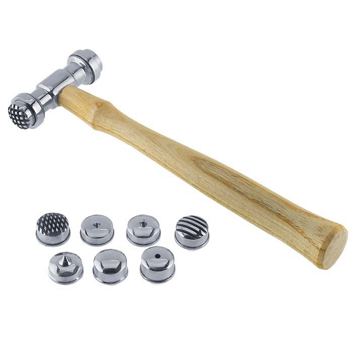 Texturing Hammer with Interchangeable Faces, 8 oz.