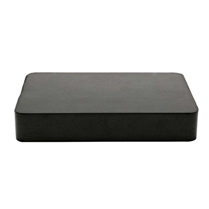 "Rubber Bench Block, 6"" x 4"""