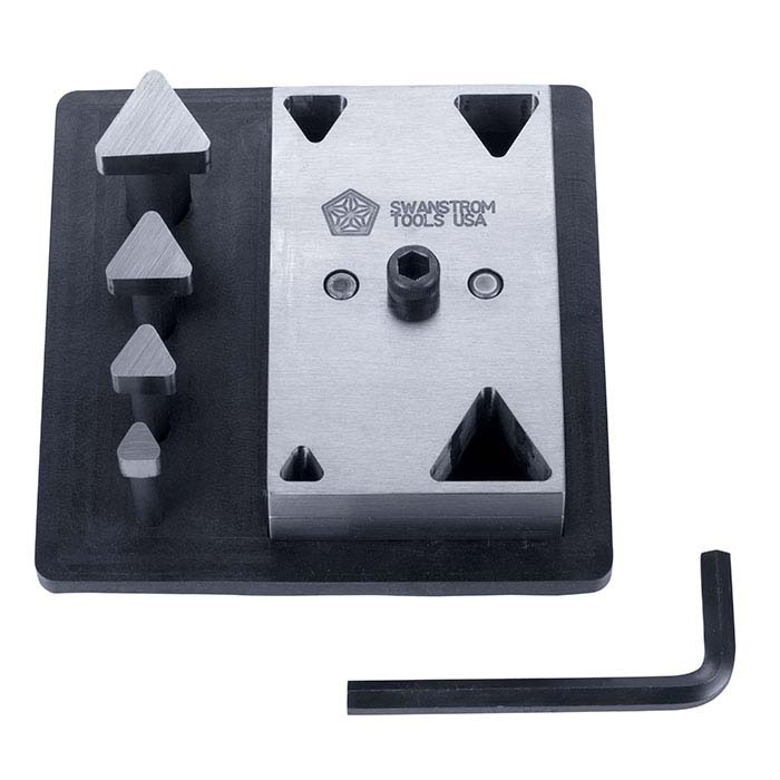 Swanstrom Triangle-Shape Cutter Set