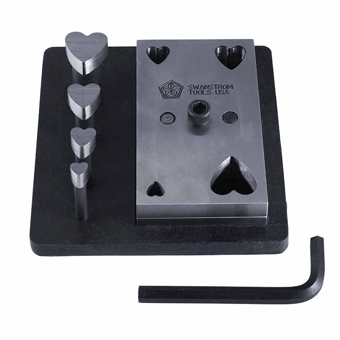 Swanstrom Heart-Shape Cutter Set