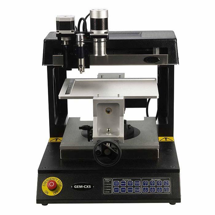 U-MARQ® GEM-CX5 Counter-Top Engraving Machine Total Package