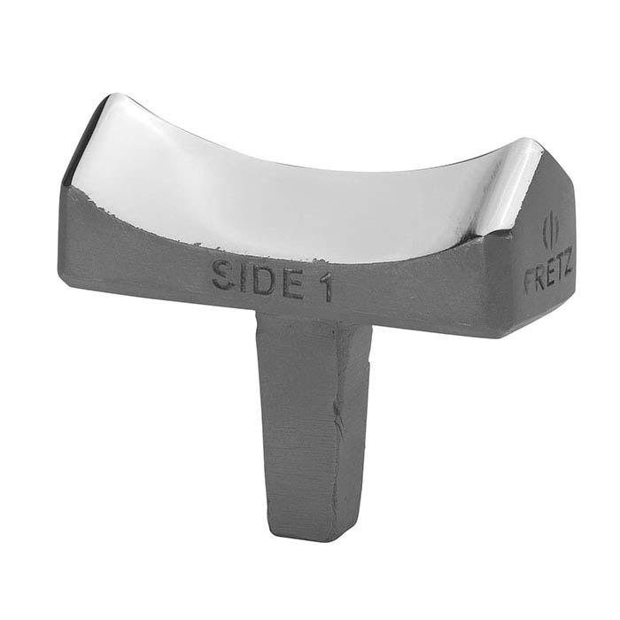 "Fretz® M-133B Miniature Concave Fluting ""Finish"" Stake"