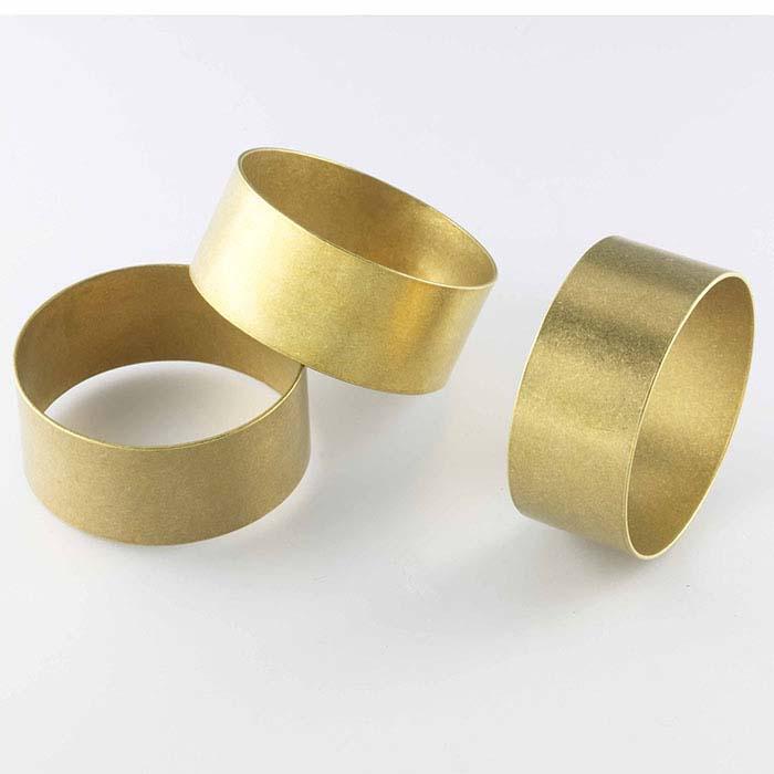 """Fretz® Brass Bracelet Blank, 7/8""""W x 2"""" dia."""