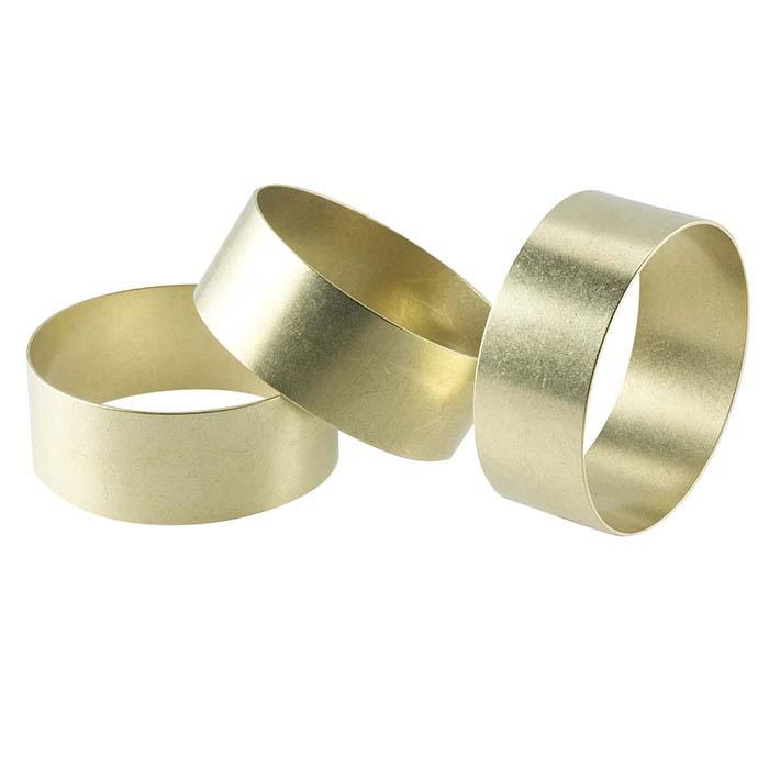 """Fretz® Brass Bracelet Blank, 7/8""""W x 2-1/4"""" dia."""