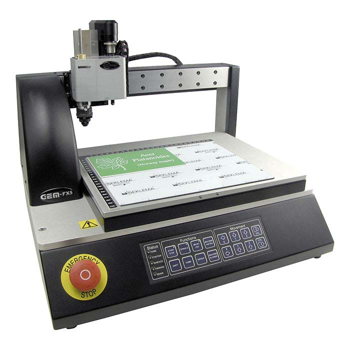 U-MARQ® GEM-FX5 Engraving Machine Total Package