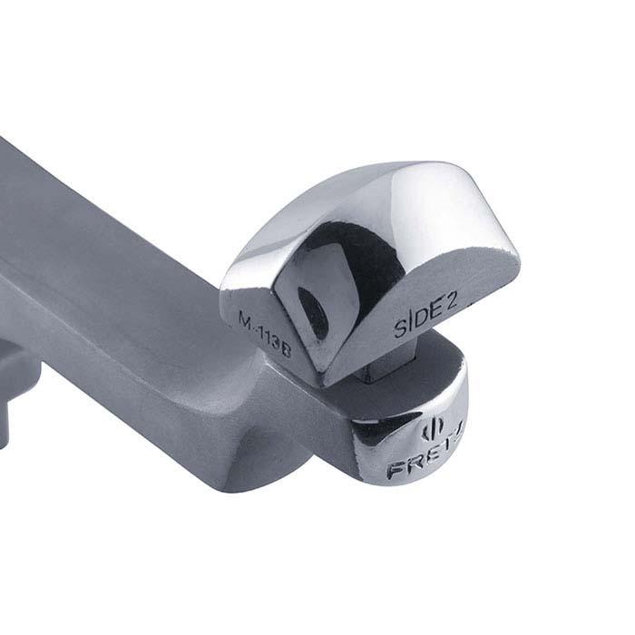 "Fretz® M-113B Convex Fluting ""Finish"" Cuff Forming Stake"