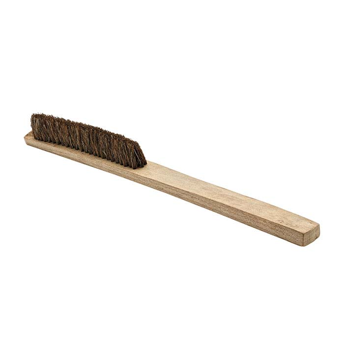 Natural Bristle Washout Brush, Brown, Soft