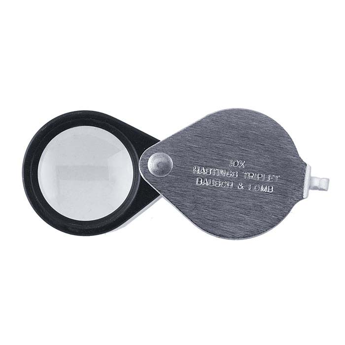 Bausch and Lomb Hastings 10X Triplet Loupe