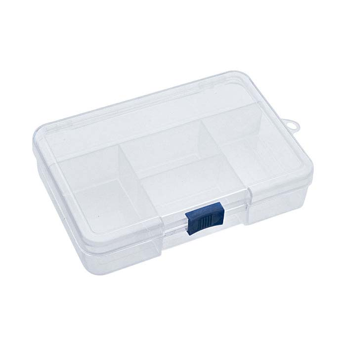 Plastic 5-Compartment Organizer Box