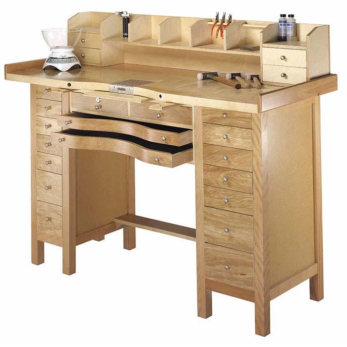 Jeweler S 16 Drawer Workbench