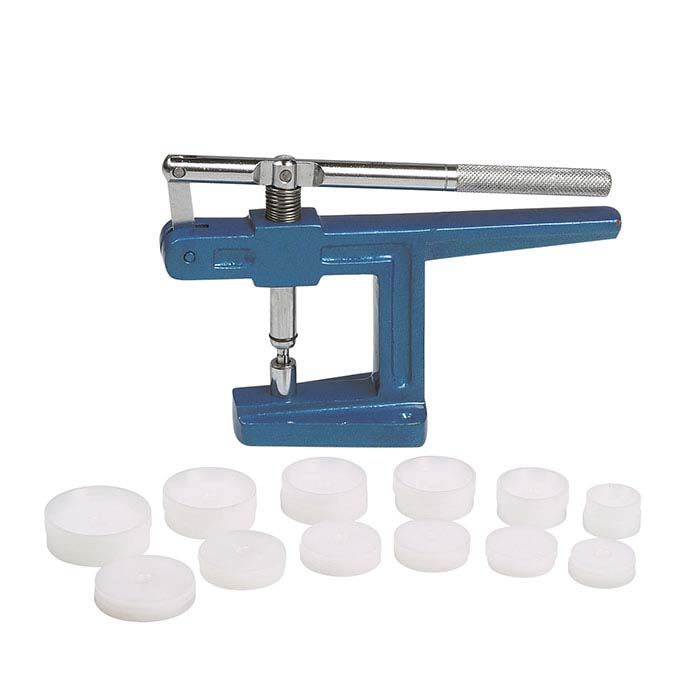 Benchtop Nylon-Die Watch-Closing Press Set