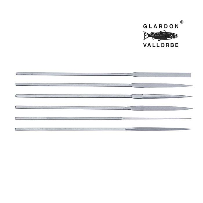 Glardon Vallorbe® Escapement Buffing Files, #10, Set of 6