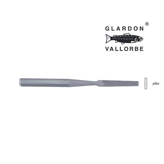 Glardon Vallorbe® Micro Pillar File, #4