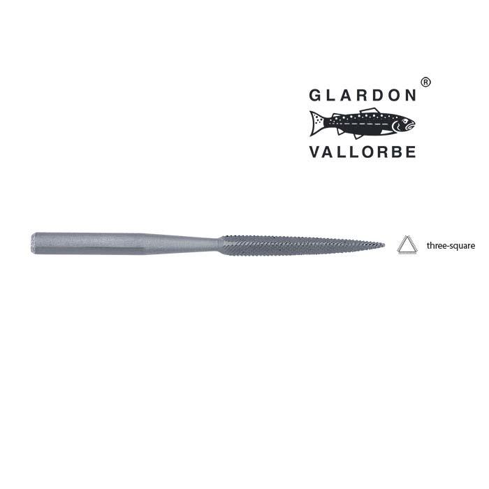 Glardon Vallorbe® Micro Three-Square File, #0