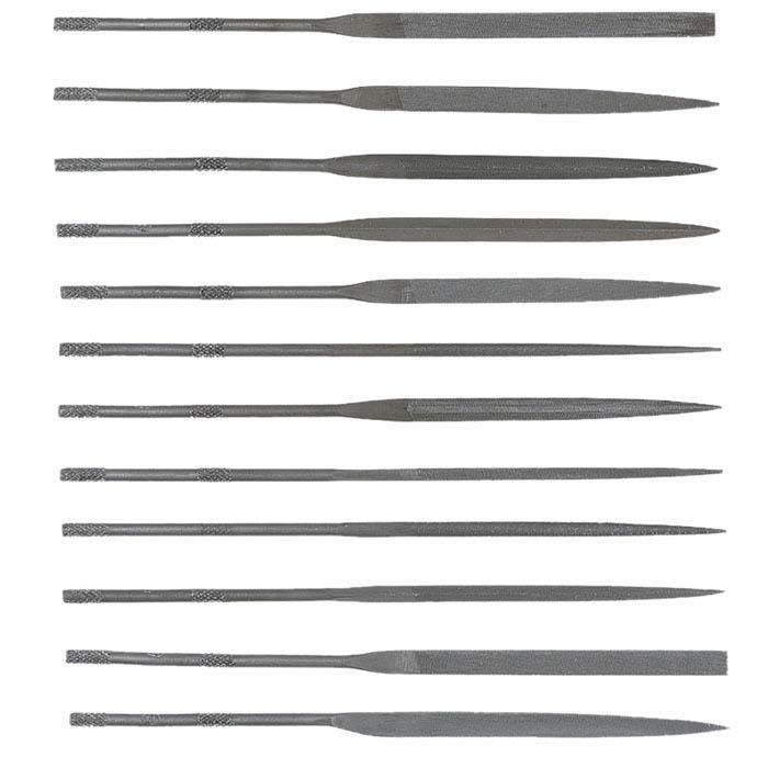 Needle File Set, Cut #0, Set of 12
