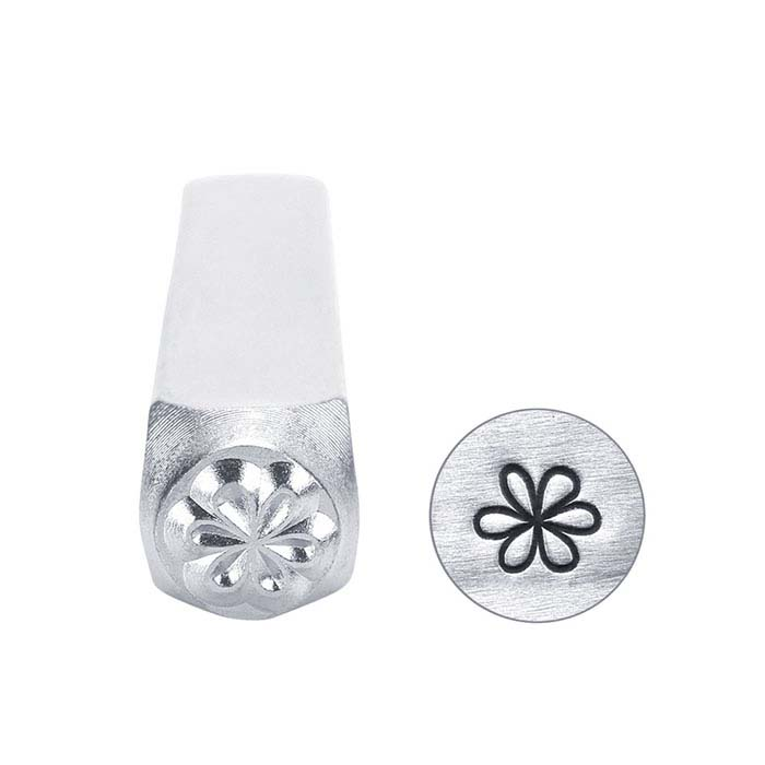 ImpressArt® Whimsy Flower Design Stamp, 6mm Character